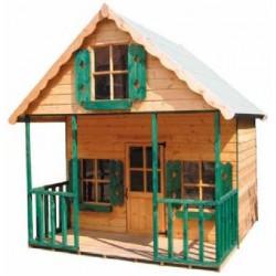 Fa gyermek játszóház (FJ-4) Fa gyermek játszóházak