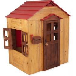 Fa gyermek játszóház (FJ-14) Fa gyermek játszóházak