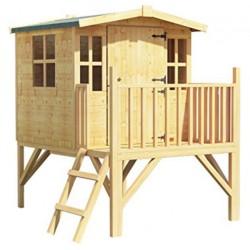 Fa gyermek játszóház (FJ-13) Fa gyermek játszóházak