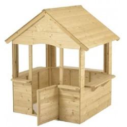 Fa gyermek játszóház (FJ-15) Fa gyermek játszóházak