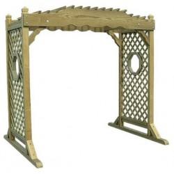 Victorian Gate pergola NÖVÉNY FUTTATÓ ÉPÍTMÉNYEK ÉS KIÜLŐK.