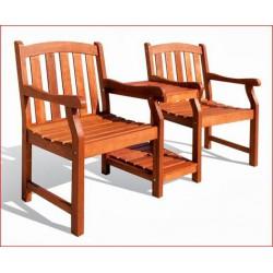 Iker szék cseresznyefábol (Virginia) ÜLŐ BÚTOROK KERTBE ÉS MEDENCÉHEZ.