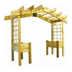 Crate House Gate System NÖVÉNY FUTTATÓ ÉPÍTMÉNYEK ÉS KIÜLŐK.