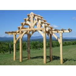 Totem House Gate System NÖVÉNY FUTTATÓ ÉPÍTMÉNYEK ÉS KIÜLŐK.