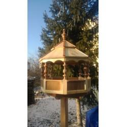 Gyurgyalag madárház bee-eater bird house ÉPÍTMÉNYEK A KERT MADARAINAK.