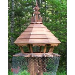 Kacagójancsi madárház Harry mocking bird house ÉPÍTMÉNYEK A KERT MADARAINAK.