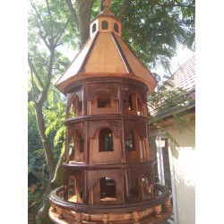 Lile colony madárház plover bird house ÉPÍTMÉNYEK A KERT MADARAINAK.