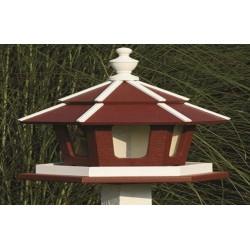 Rozsdafarku madárház Stainless-tailed bird house ÉPÍTMÉNYEK A KERT MADARAINAK.