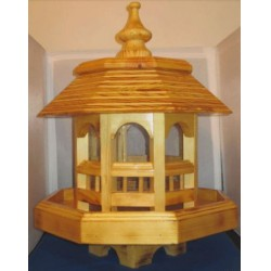 Sármány madárház Goldfinch bird house ÉPÍTMÉNYEK A KERT MADARAINAK.